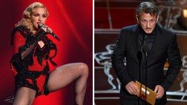 Madonna le envió un mensasje a Sean Penn desde el escenario