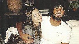 La China Suárez y Marlon Teixeira.La actriz viajó a Brasil para el cumpleaños del modelo