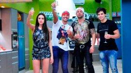 Belén Etchart, Francisco Delgado, Mariano Berón y Matías Schrank, finalistas de Gran Hermano 2015