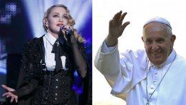 Madonna le dedicó una canción al Papa Francisco