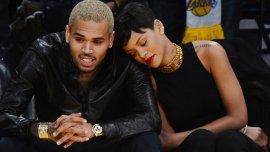 Chris Brown y Rihanna cuando estaban juntos