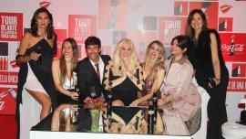 Mariana Arias, Pampita, Mariano Martínez, Susana Giménez, Guillermina Valdés, Araceli González y Andrea Frigerio