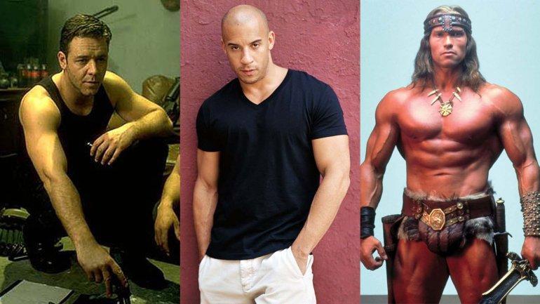 Seis actores músculos, ahora diamonds