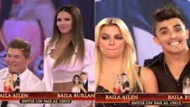 Bailando por un sueño: Ailén Bechara vs. Fernando Burlando y Barby Franco