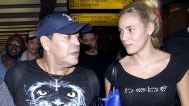 Diego Maradona y Rocío Oliva se separaron.