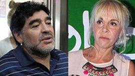 Sigue la pelea judicial entre Maradona y su ex
