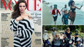 Angelina Jolie en revista Vogue