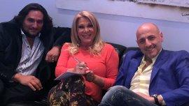 Martín Kweller, Reina Reech y Gustavo Sofovich