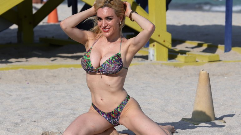 Fátima Florez súper sensual en Miami