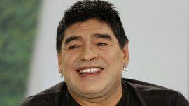 Diego Maradona busca bajar de peso