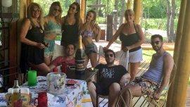 Elenco de El champán las pone mimosas en el Tigre