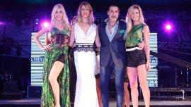 Nicole Neumann, Candela Ruggeri y Rocío Guirao Díaz son algunas de las modelos que desfilaron para celebrar el cuarto aniversario de la consagración de Cataratas como Maravilla Natural del Mundoen PuertoIguazu