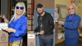 Susana, Marcelo Tinelli y Mirtha votaron