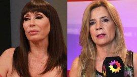 Moria Casán y Mercedes Ninci tuvieron un cruce tuitero