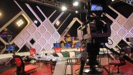 El estudio de 678, ciclo que se emite por la TV Pública