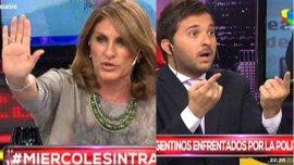 Silvia Fernández Barrio se va de Intratables. Diego Brancatelli regresa al panel