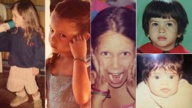 Candela Vetrano, Papita, Barbie Vélez, Eugenia Suárez y Zaira Nara de chiquitas
