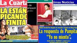 La prensa chilena sobre el escándalo Pampita-Vicuña