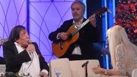 Cacho Castaña con Susana Giménez