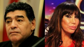 Diego Maradona y Moria Casán
