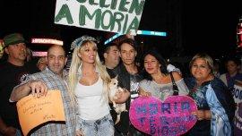 La marcha por la liberación de Moria Casán