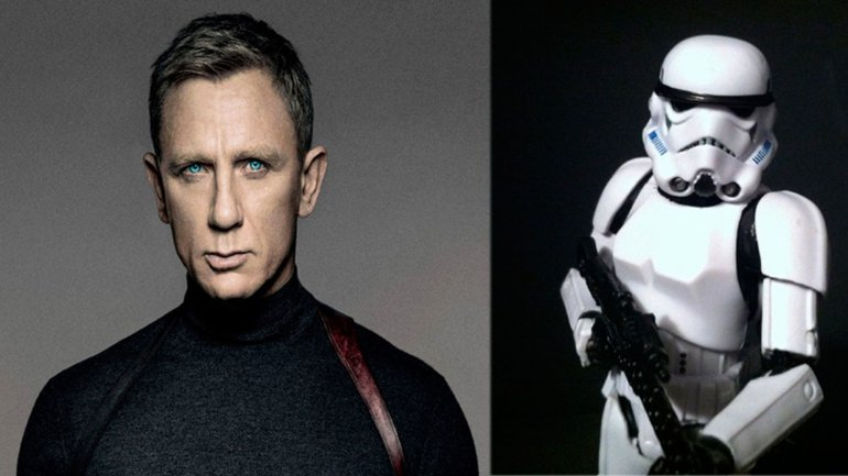 Daniel Craig en Star Wars