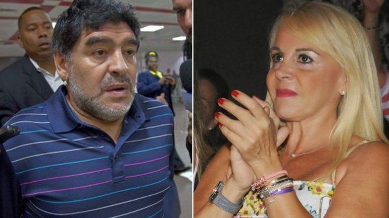 Diego Maradona vs Claudia Villafañe