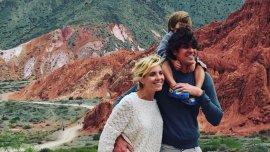 Las vacaciones de Carla Peterson y Martín Lousteau