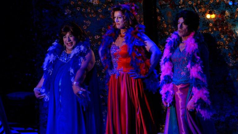 El estreno de la obra Casa Valentina