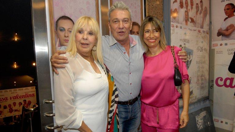 Dorys del Valle,Fernando Lupiz y su mujer