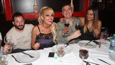 José Ottavis compartió una cena con Vicky Xipolitakis