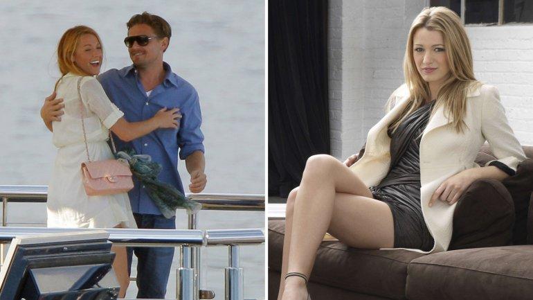 <p>Con la actriz de la serie Gossip Girl, Blake Lively, fue pareja durante cinco meses en 2011</p><p></p>