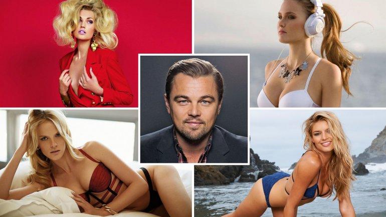 Las conquistas de Leonardo DiCaprio
