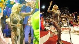 Verónica Ojeda en el Carnaval de Gualeguaychú