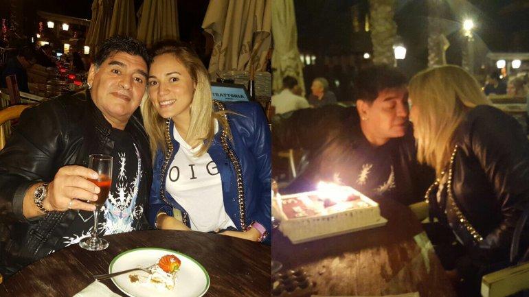 Diego y Rocío festejaron sus 3 años juntos en Dubai