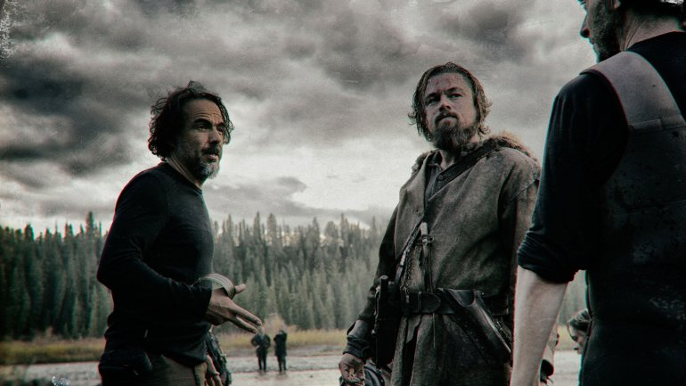 El rodaje de The Revenant
