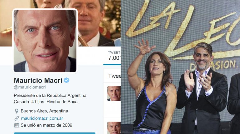 Mauricio Macri apoyó a Echarri y Dupláa