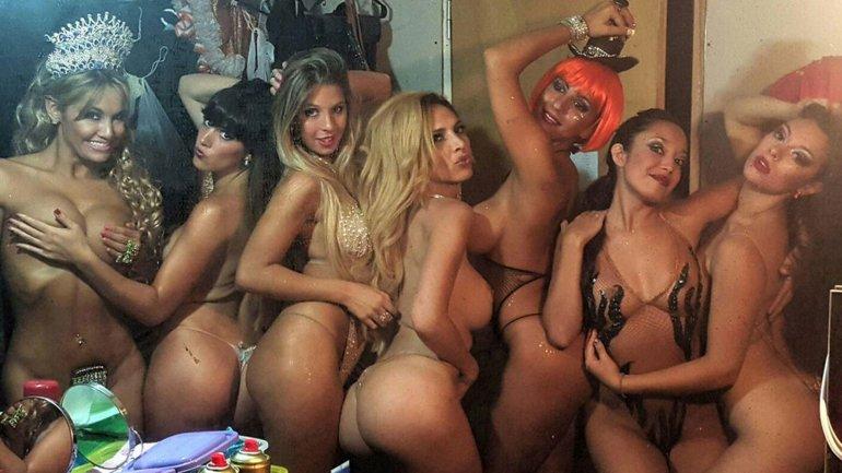 Las diosas de La revista de Mar del Plata
