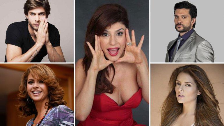 El saludo de los actores a Carolina Papaleo