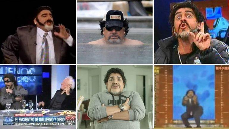 Imitadores de Diego Maradona