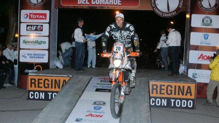 Gastón GRande participó del Dakar