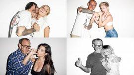 Terry Richardson con Lindsay Lohan, Miley Cyrus, Kim Kardashian y Cameron Diaz