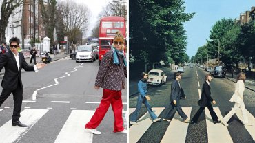 Zoolander 2 en Abbey Road