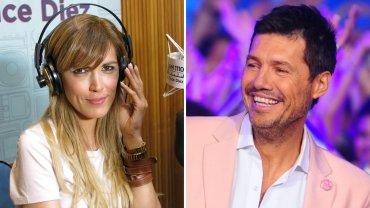Viviana Canosa y Marcelo Tinelli