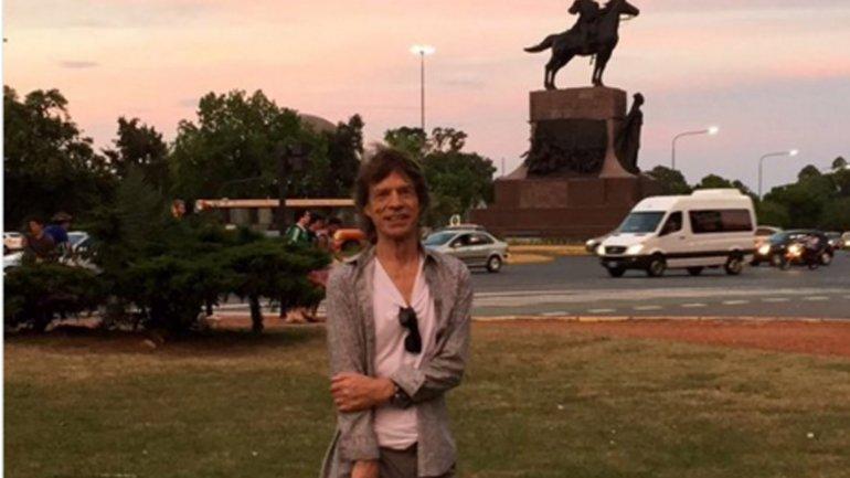 Mick Jagger en Palermo