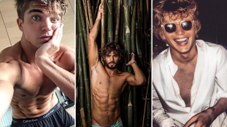 Los modelos más sexies de la Semana de la Moda masculina