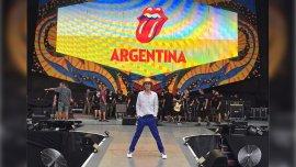 Mick Jagger en Instagram, listo para tocar en La Plata