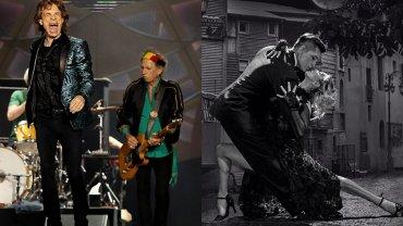 La famosa que bailará tango para los Rolling Stones