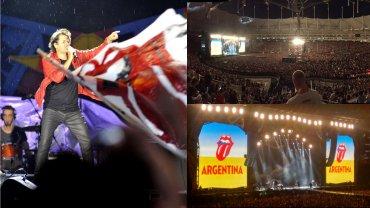 Ciro y los persas, teloneros de los Rolling Stones en La Plata