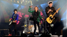 Los Rolling Stones dieron su primer show en La Plata